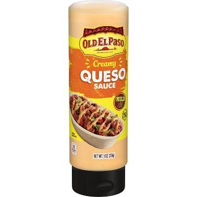 Old El Paso Sauce Creamy Queso - 9oz
