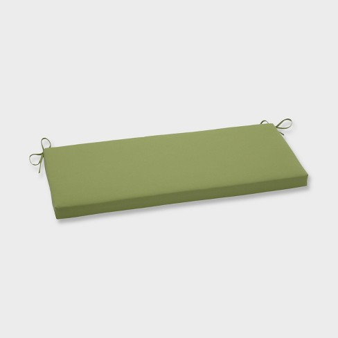 Colefax Pesto Outdoor Bench Cushion Green - Pillow Perfect - image 1 of 1