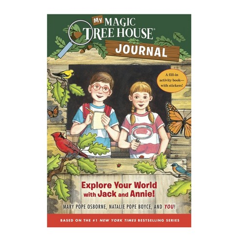 My Magic Tree House Journal Hardcover By Mary Pope Osborne Target