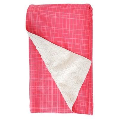 Valentina Ramos Spring Garden 03 Sherpa Fleece Blanket Pink - (60X50)- Deny Designs®