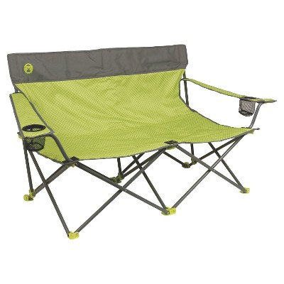 Coleman® Quattro Lax Double Quad Chair with Carrying Case - Lime