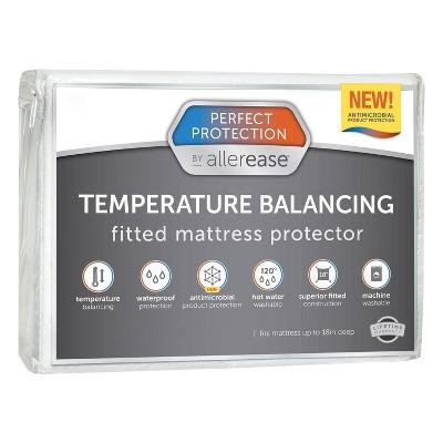 King Perfect Protection Temperature Balancing Mattress Protector - Allerease