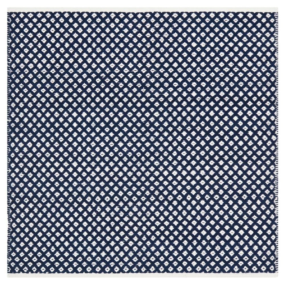 Ramona Area Rug - Navy (Blue) (6' Square) - Safavieh