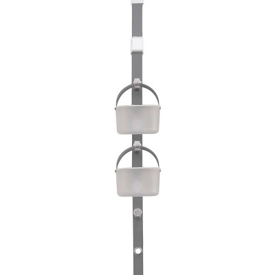 Hanging Door Caddy System Frost/Gray - Madesmart