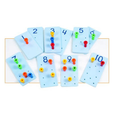 Creative Minds Peg It Number Boards
