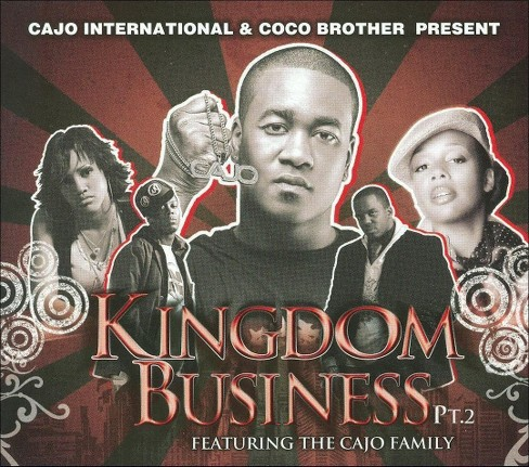Canton Jones Featuring the CAJO Family - Kingdom Business, Pt. 2 (CD) - image 1 of 1
