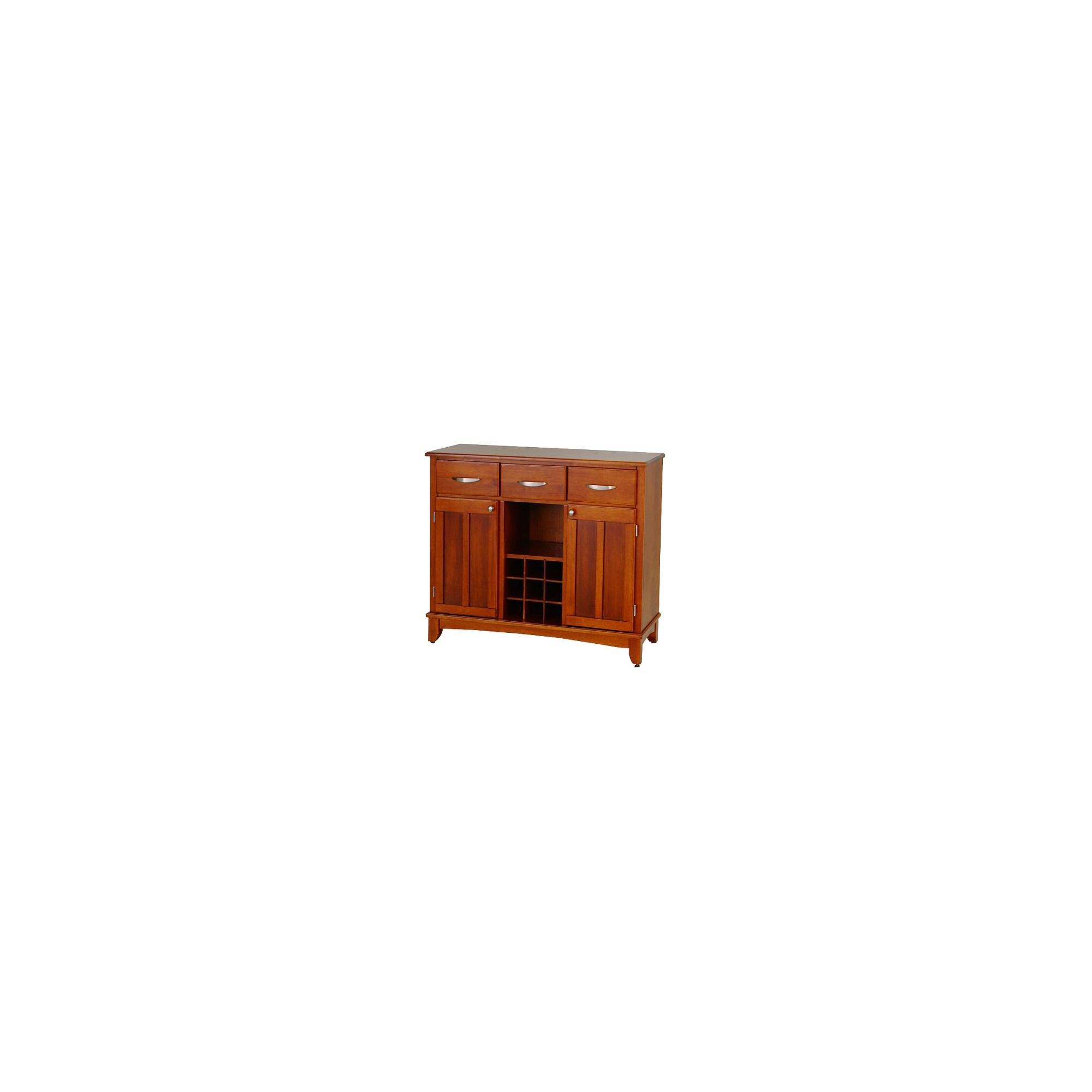 Hutch-Style Buffet Wood/Oak - Home Styles