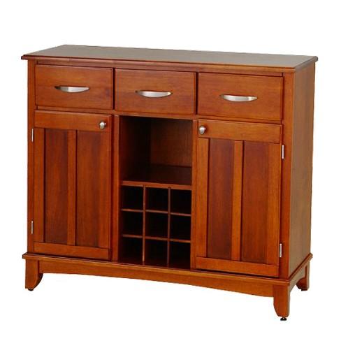 Hutch-Style Buffet Wood/Oak - Home Styles - image 1 of 1