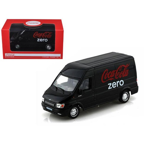 Ford Transit Coca Cola Zero 1/43 Diecast Car Model by Motorcity Classics - image 1 of 1