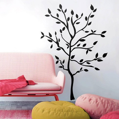 roommates tree branches peel & stick wall decals : target
