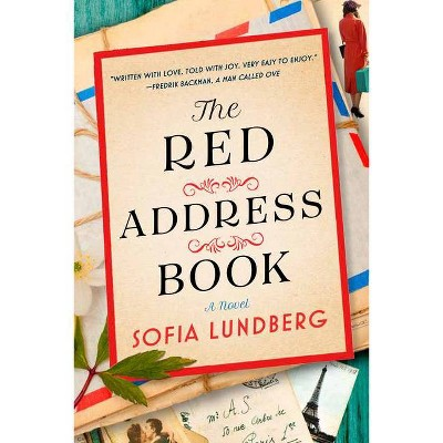 The Red Address Book - by  Sofia Lundberg (Hardcover)