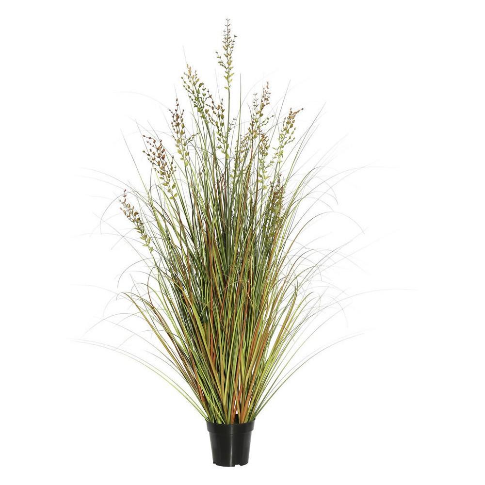 Artificial Grass Plant (24) Green/Brown - Vickerman