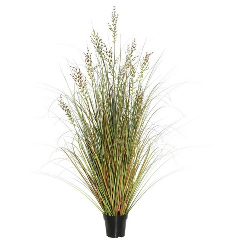 "Artificial Grass Plant (48"") Green/Brown - Vickerman - image 1 of 1"