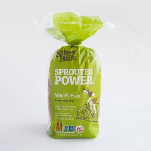 Silver Hills Bakery Mack's Flax Sprouted Grain Bread - 22oz - image 1 of 4