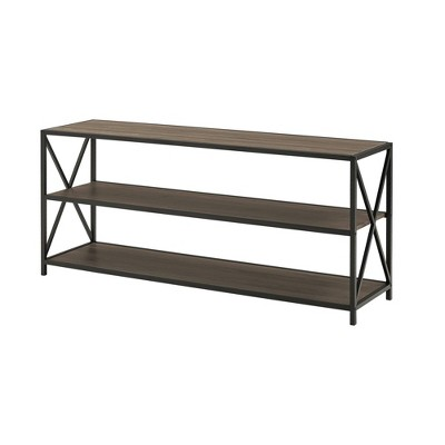 "Frame Metal and Wood Console Table 60"" - Saracina Home"