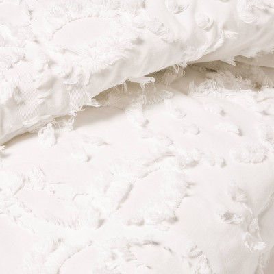 Clipped Chenille Comforter & Sham Set - Threshold™ : Target