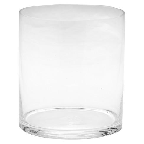 Diamond Star Glass Cylinder Vase Clear 75x7 Target