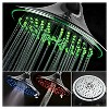 "8"" LED Color Changing Showerhead Chrome - DreamSpa - image 2 of 4"