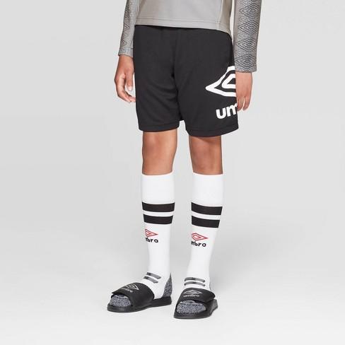b9abf1ad0 Umbro Boys' Knit Shorts - Black XS : Target