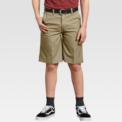 Dickies® Young Men's Classic Fit Flat Front Shorts