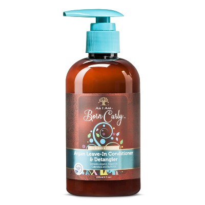 As I Am® Born Curly™ Argan Leave-In Conditioner & Detangler - 8 oz