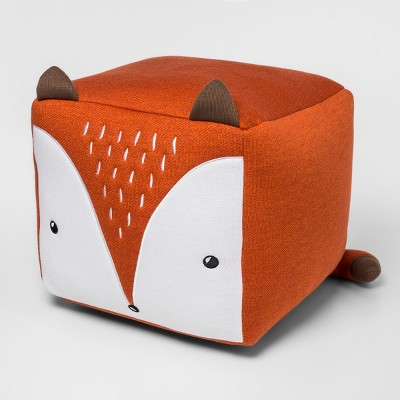 Fox Cube Pillow Orange - Pillowfort™