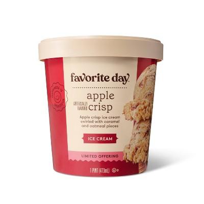 Apple Crisp Ice Cream - 16oz - Favorite Day™