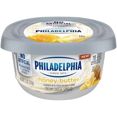 Philadelphia Honey Butter Cream Cheese 7.5oz