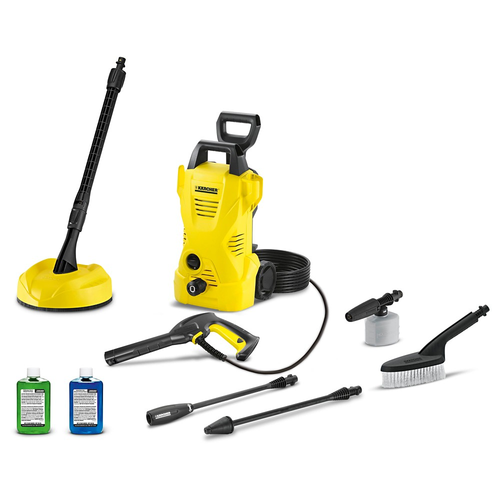 Image of 120 Volts And 1560 Watts Car And Home Kit 1600 Psi 1.25 Gpm Electric Power Pressure Washer - Yellow - Karcher