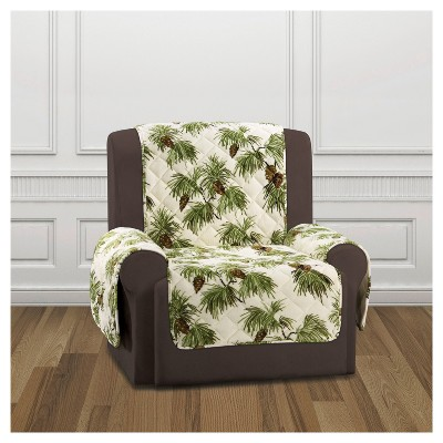 Ivory Furniture Flair Pinecone Recliner Cover   Sure Fit : Target