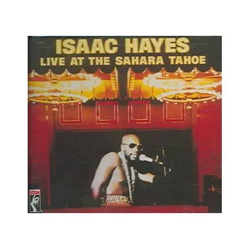 Isaac Hayes - Live at the Sahara Tahoe (CD) - image 1 of 1