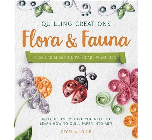 Flora & Fauna : Craft 10 Charming Paper Art Vignettes--includes Everything You Need to Learn How to - image 1 of 1
