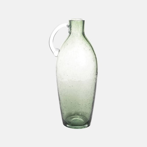 """6"""" Bubble Glass Vase Mint Green - Foreside Home & Garden - image 1 of 1"""