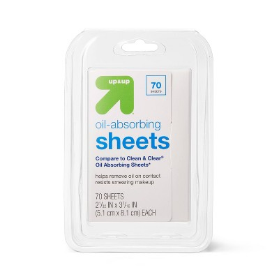 Oil Absorbing Sheets - 70ct - up & up™