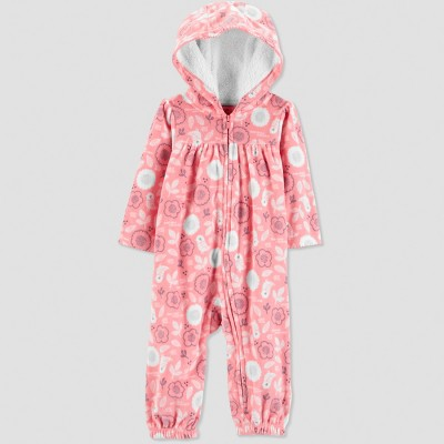 Baby Girls' Floral Jumpsuit - Just One You® made by carter's Pink 3M