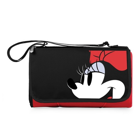 d7d3b166c5 Picnic Time Disney Minnie Mouse Outdoor Picnic Blanket Tote - Red   Target