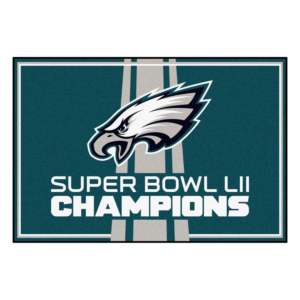 Rugs 2'X3' Fanmats Philadelphia Eagles, Multi-Colored