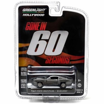 "1967 Ford Mustang Custom ""Eleanor"" Gone in 60 Seconds (2000) Movie 1/64 Diecast Model Car by Greenlight"