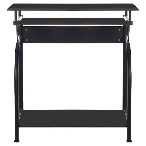 Stanton Computer Desk With Pullout Keyboard Tray Black Comfort S Target