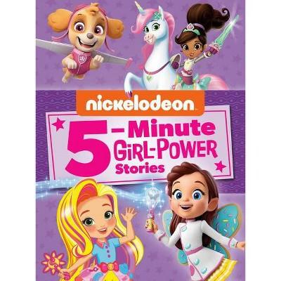 Nickelodeon 5-Minute Girl-Power Stories (Nickelodeon) (Hardcover)