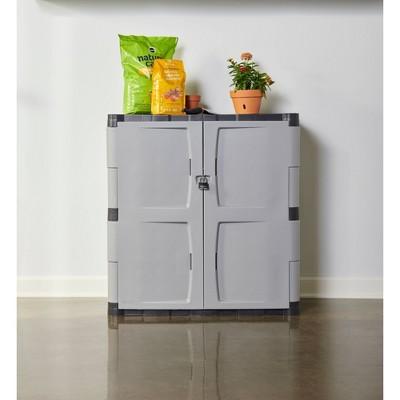 Rubbermaid Garage Storage Lockable Cabinet