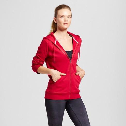 Women s Authentic Fleece Sweatshirt - C9 Champion® Armature Red S   Target 49d823e714