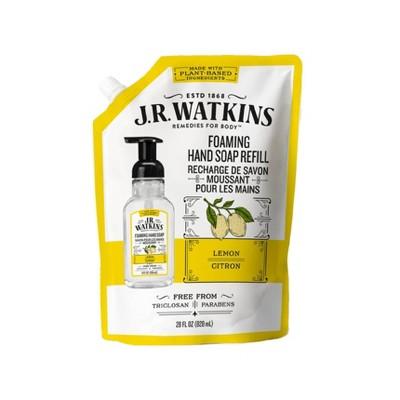 JR Watkins Lemon Foaming Hand Soap Refill - 28oz