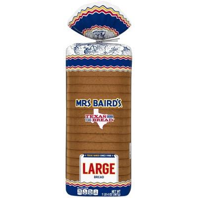 Mrs. Baird's Large White Bread - 20oz
