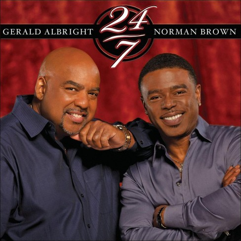 Gerald albright - 24/7 (CD) - image 1 of 1