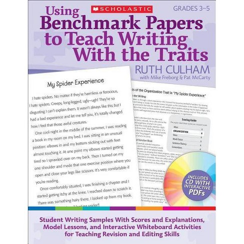 Using Benchmark Papers to Teach Writing with the Traits: Grades 3-5 - (Teaching Resources) (Paperback) - image 1 of 1