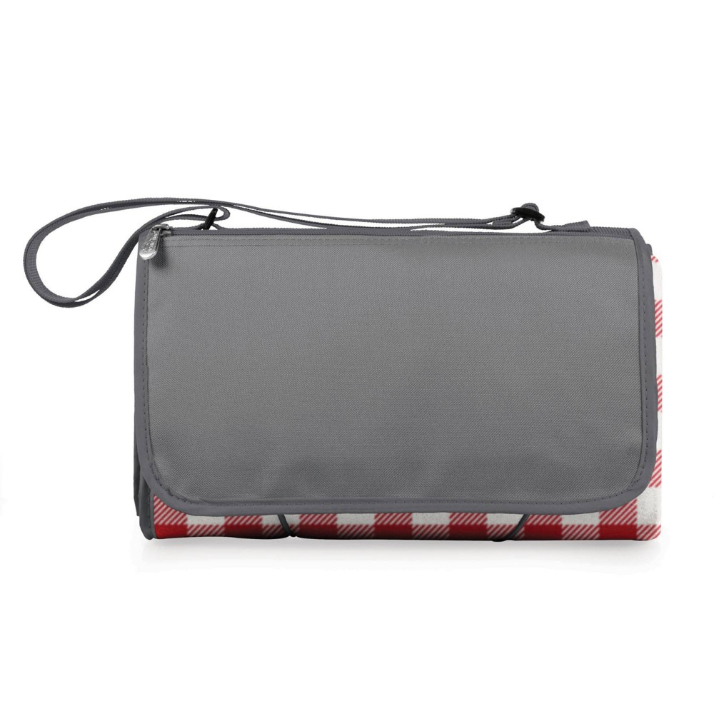 Picnic Time Blanket Tote Xl Outdoor Picnic Blanket Red White Check