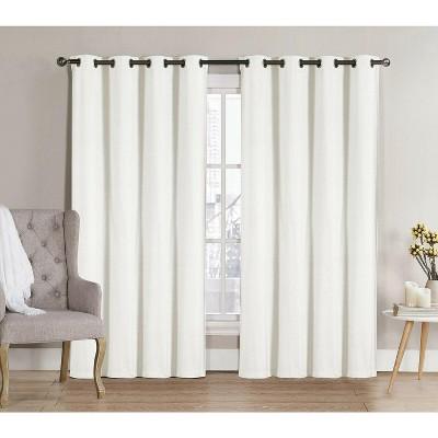 GoodGram 2 Pack: Hotel Thermal Grommet 100% Blackout Curtains