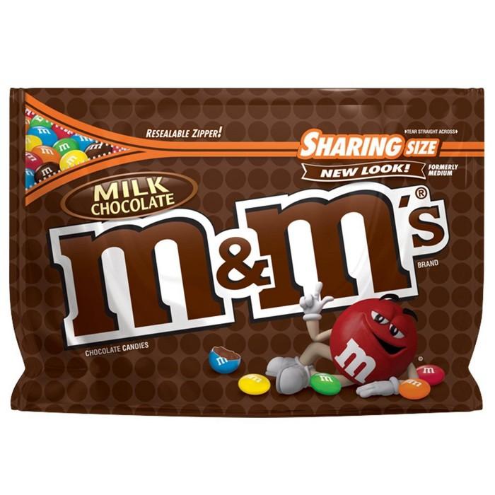 M&M's Milk Chocolate Candies - 10.7oz - Sharing Size - image 1 of 5