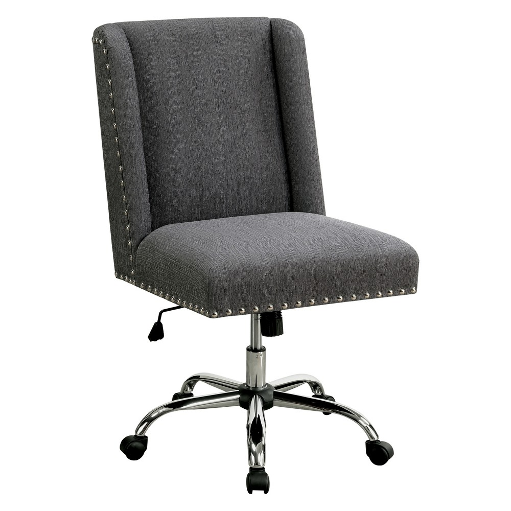Barth Contemporary Office Chair Gray - Homes: Inside + Out